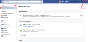 Facebook Security Setting: Protect your fb account